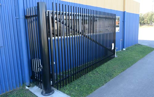 Electric Gate, only customers have access to our Facility