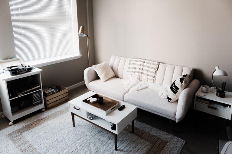 Self Storage Brisbane Port: Clean Living Room | Fort Lytton Self Storage