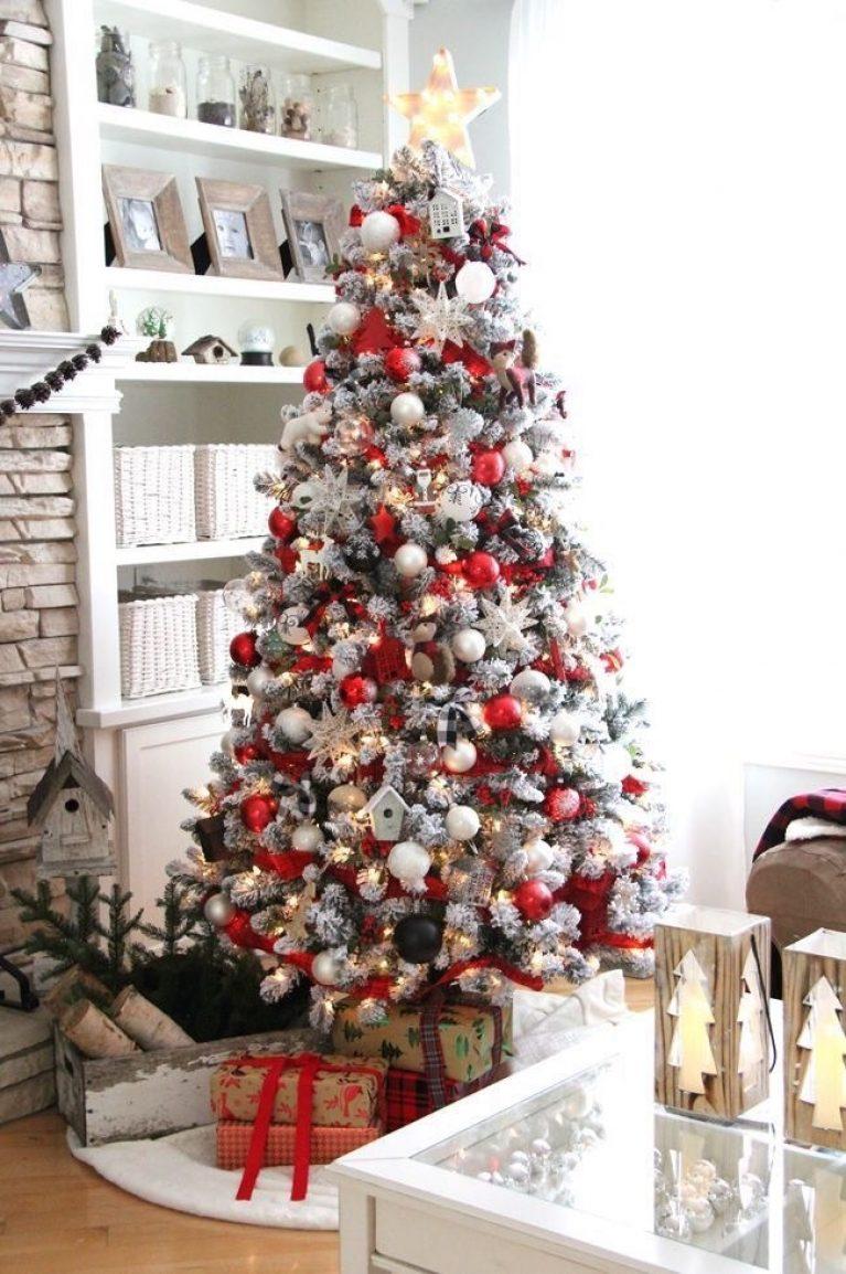 Beautiful modern christmas tree