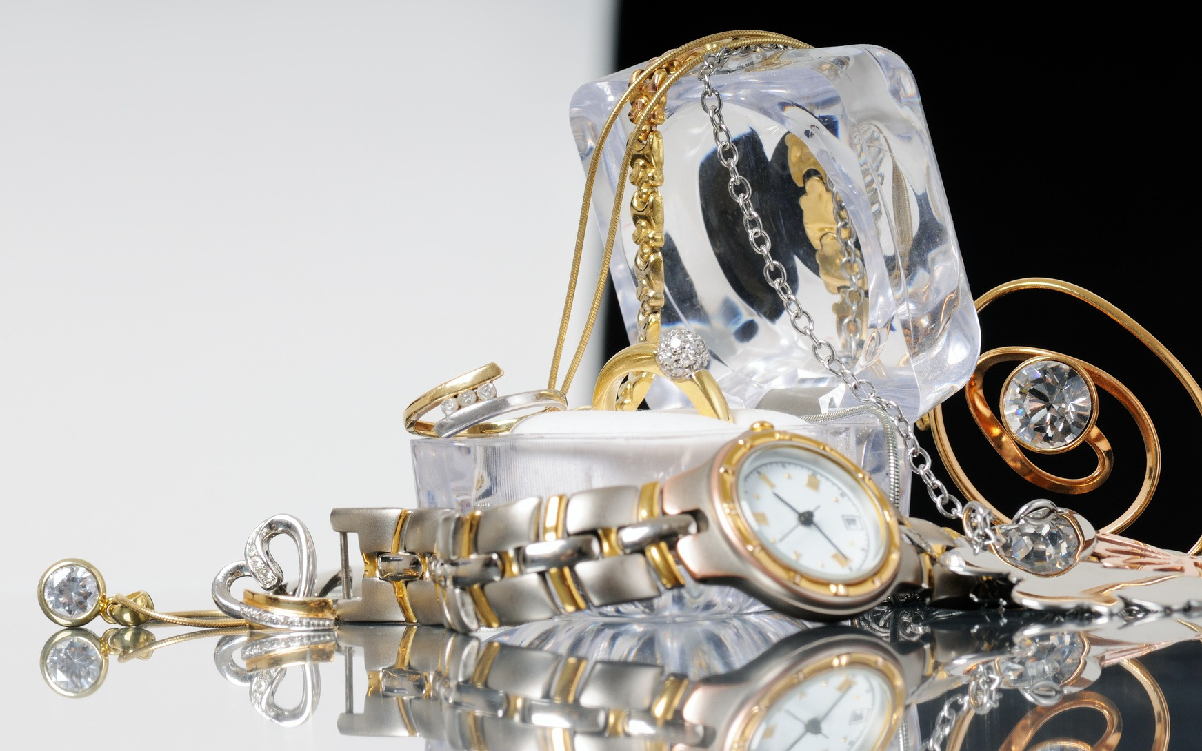 watch, jewelry and other valuable items