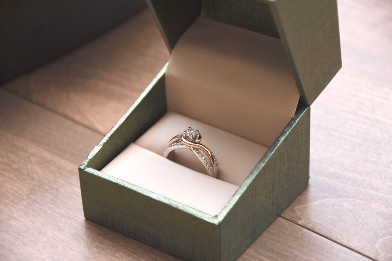 ring in a box