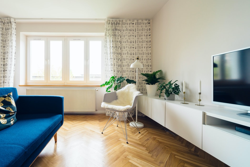 cosy apartment with wooden floors