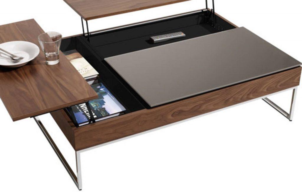 Hidden Storage On A Table